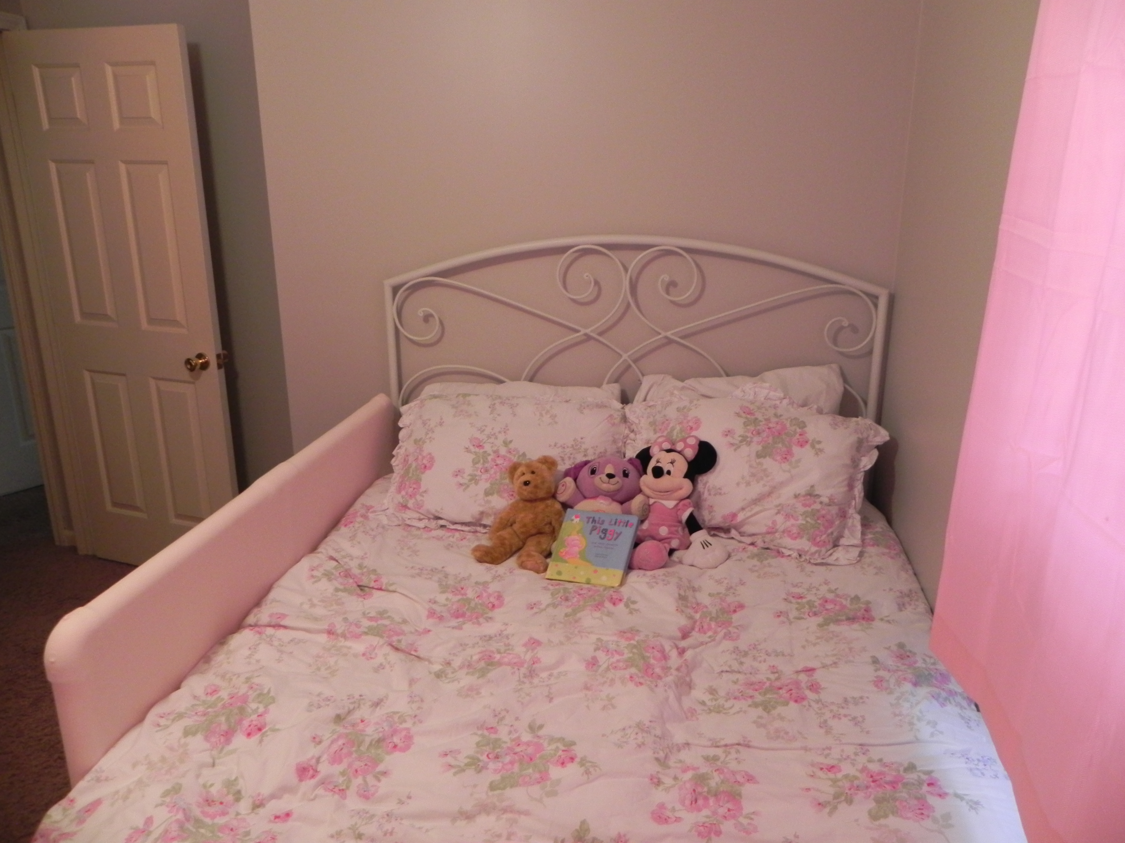 Transition From Crib To Big Kid Bed The Domestic Four