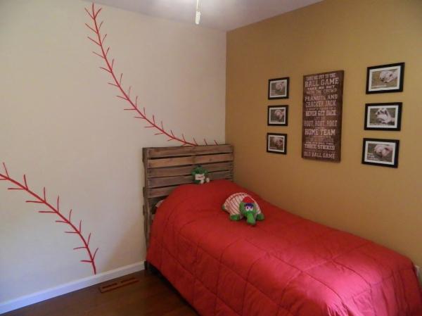 Ben's Baseball Room