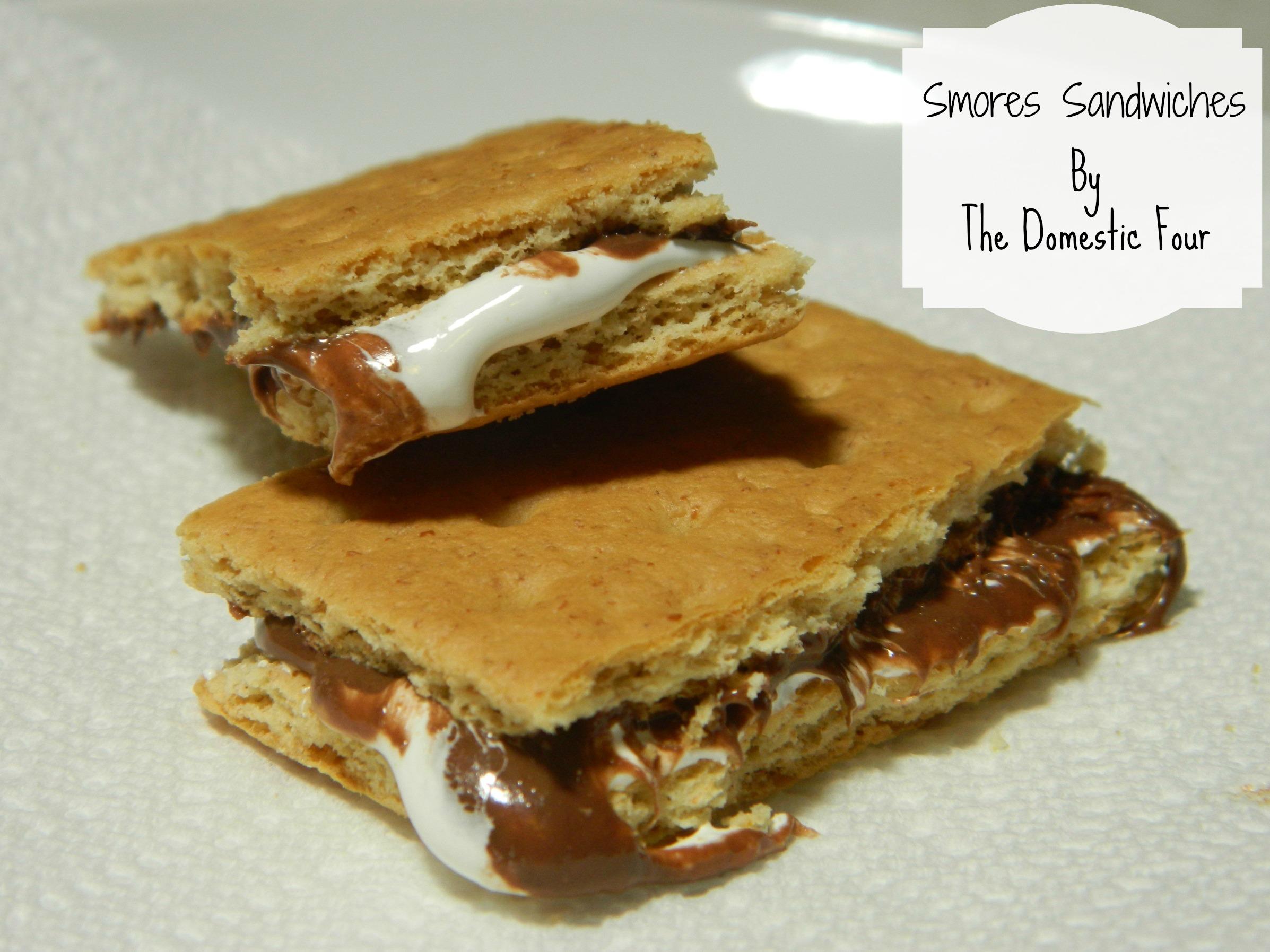 Smores Sandwiches