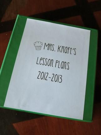 '12-'13 Lesson Plans